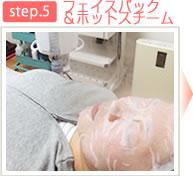 太田市くじらい接骨院フェイスパック&ホットスチーム